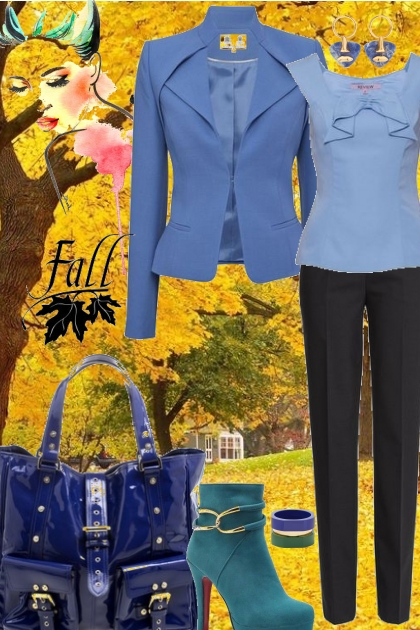Get Into The Blues For Fall!