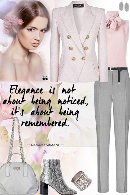 Elegant Pink & Grey!