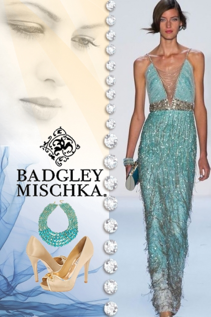 Badgley Mischka Gown & Accessories!