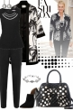 Classic Black & White Style!