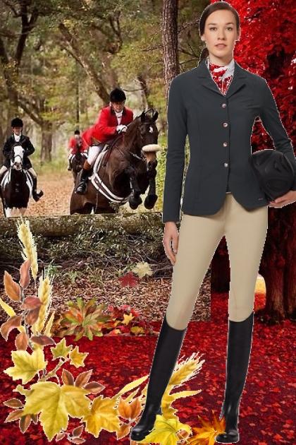 English Fox Hunt Riding Clothes!