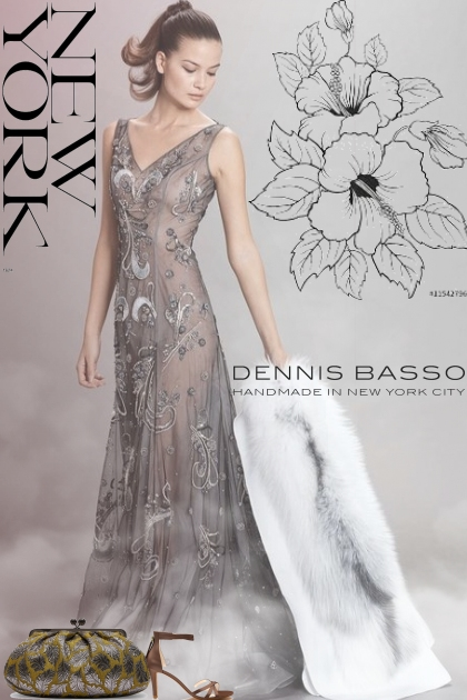 Dennis Basso Pre-Fall 2018 Gown!