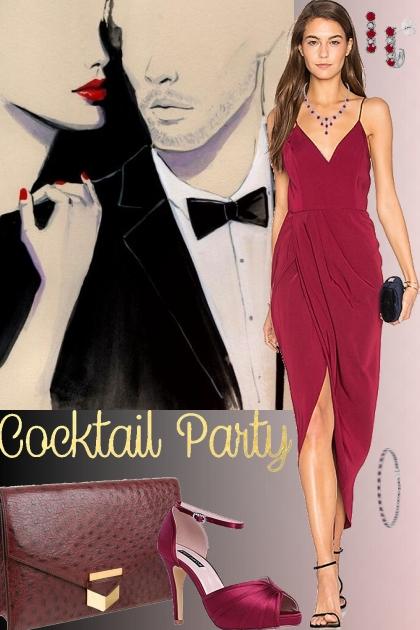 Shona Joy Cocktail Wrap Dress!