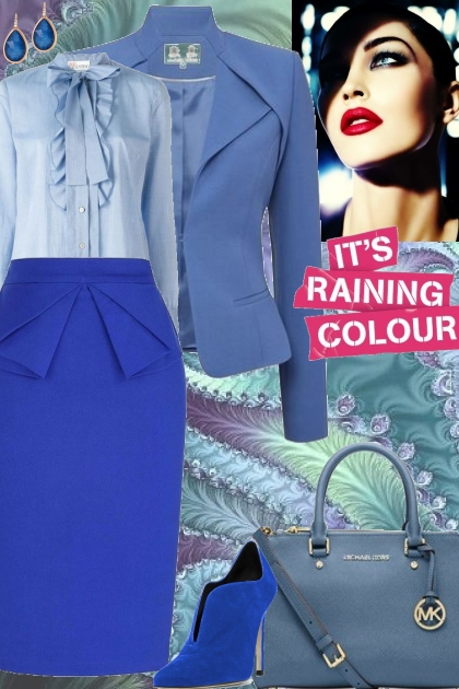 It's Raining Blue!