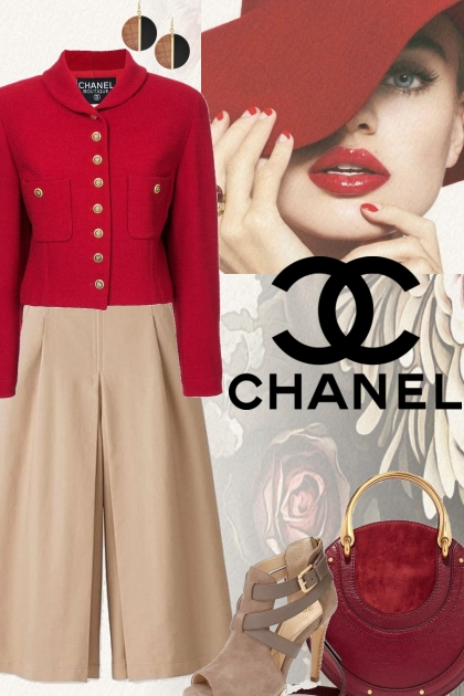 Fall Chanel Vintage Boucle Jacket!