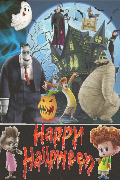 Happy Halloween From Hotel Transylvania!