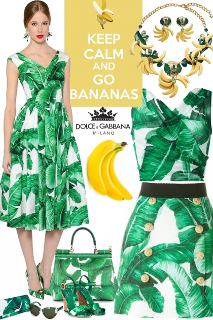 Go Bananas With D&G!