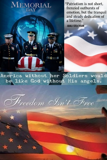 Have A Blessed Memorial Day!