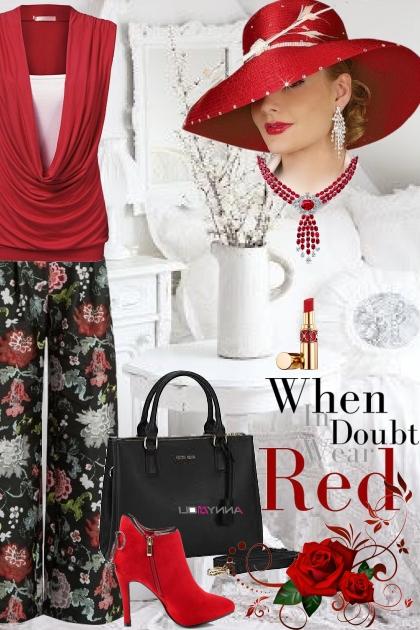 When In Doubt, Always Wear Red!
