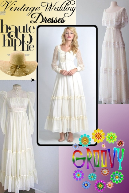 Vintage Hippy Wedding Dresses!
