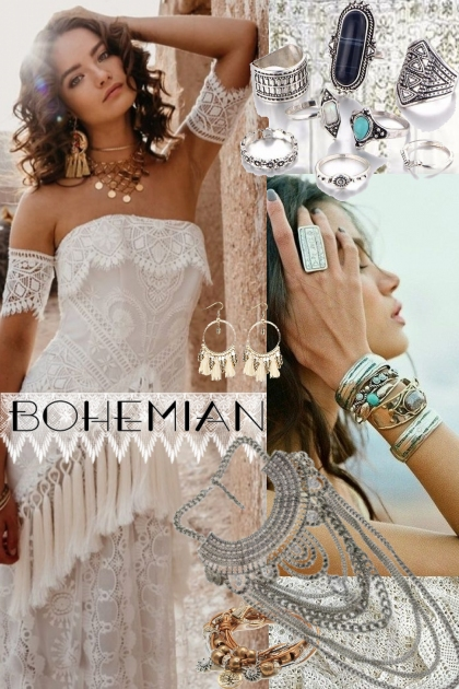 Bohemian Wedding!- Fashion set