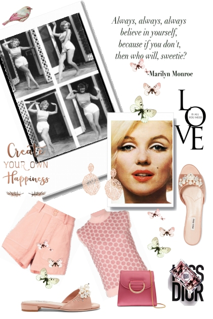 Marilyn Monroe 's style 1st part
