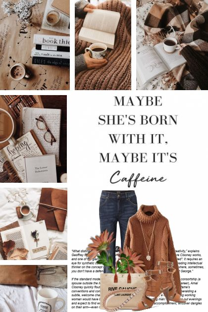 Maybe She's Born With It, Maybe It's Caffeine 4/25