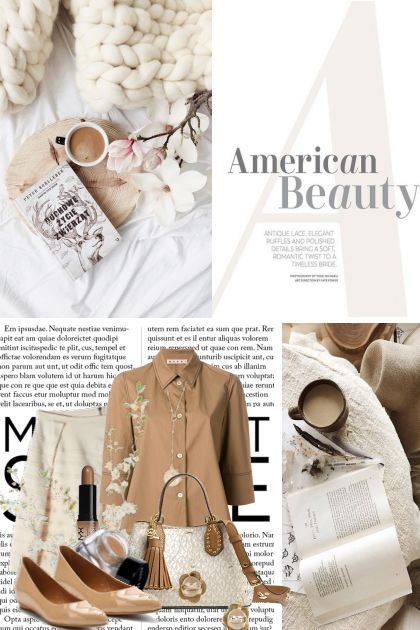 American Beauty in Shades of Brown (4/26/18)