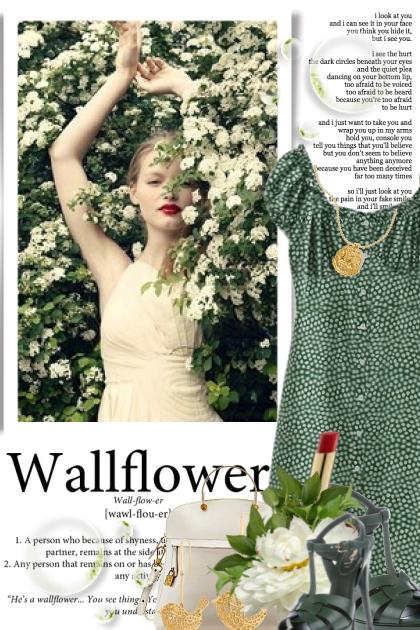 She's A Beautiful Wallflower