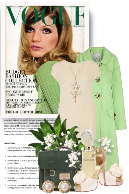 Vogue Does it in Green