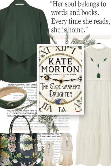 Currently Reading - The Clockmaker's Daughter
