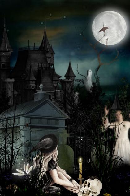 A Spooky Halloween Evening