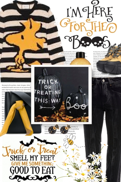 Trick or Treating This Way ---->