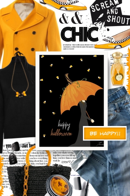 Be Happy && Chic This Halloween