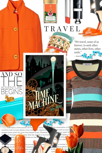 The Time Machine - H.G. Wells (Book)- Fashion set