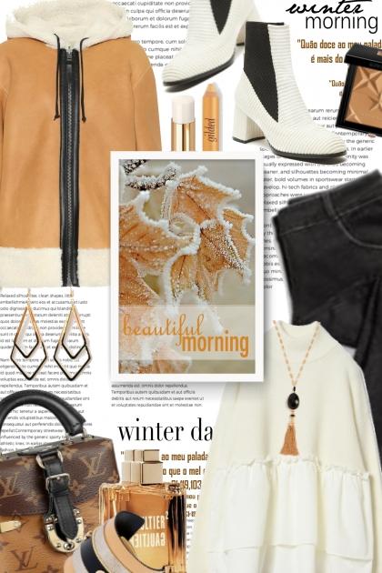 winter morning - beautiful morning