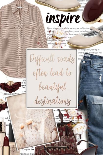 difficult roads....beautiful destinations