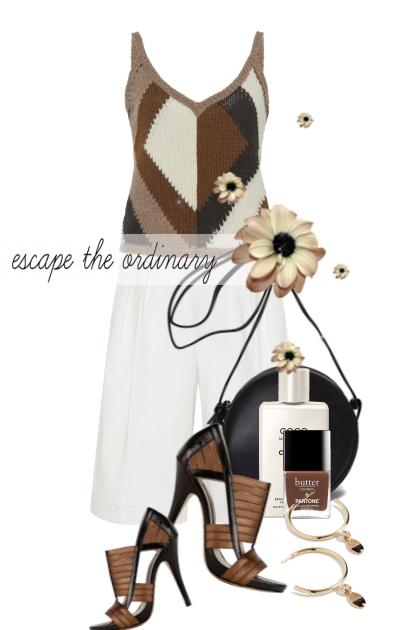 escape the ordinary- Fashion set