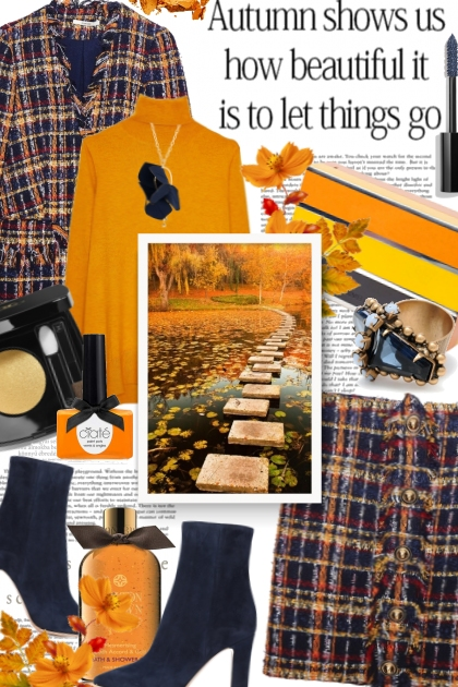 It can be beautiful to let things go- Fashion set