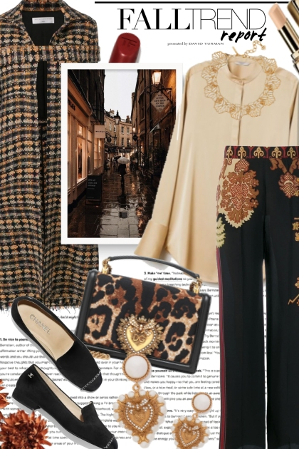 Elegant Fall Fashion