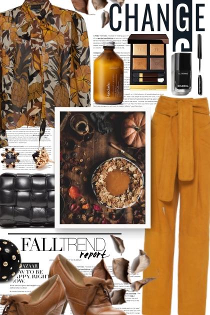 Fall is a Beautiful Change- Fashion set