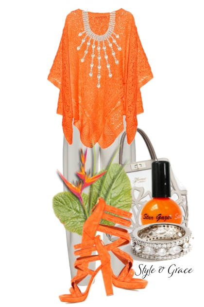 Style & Grace in Orange