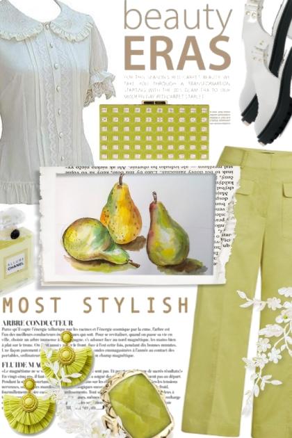 Stylish in Pear Green