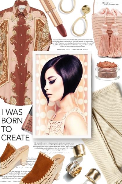I was born to create