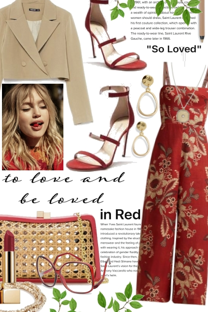 to love and be loved in RED
