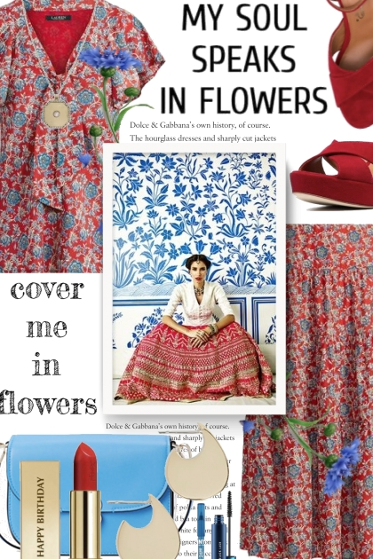 cover me in flowers