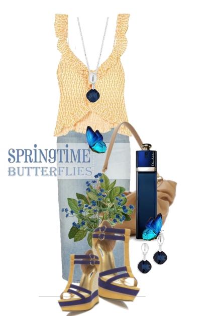 Springtime Butterflies
