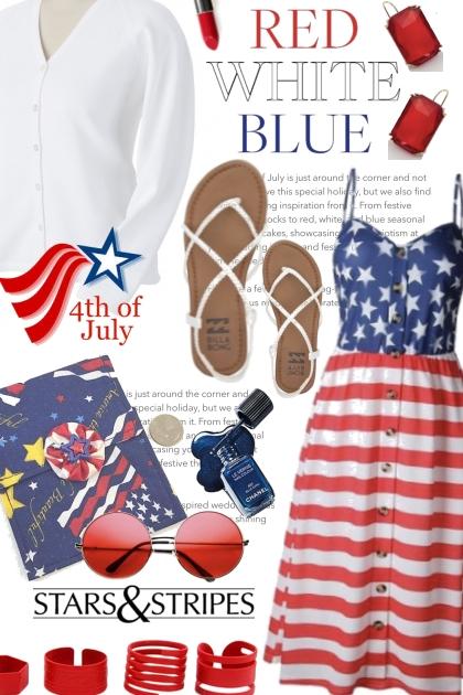 4th of July Stars & Stripes