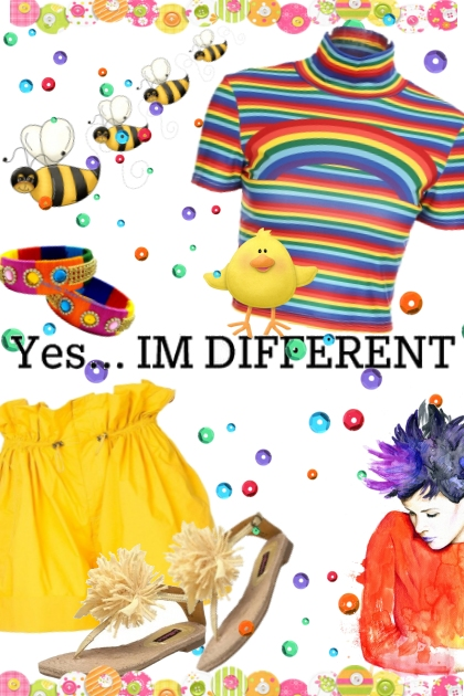 YES I'M DIFFERENT