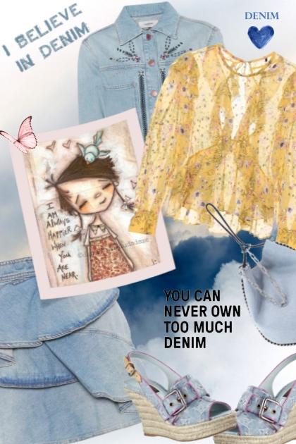 DENIM BABY- Fashion set