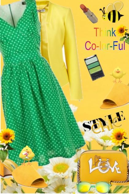 THE HAPPY COLORS ......♥- Fashion set