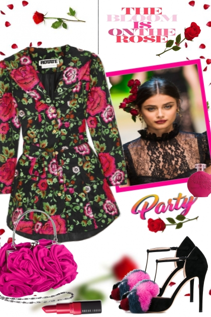 THE BLOOM IS ON TYHE ROSE- Combinaciónde moda