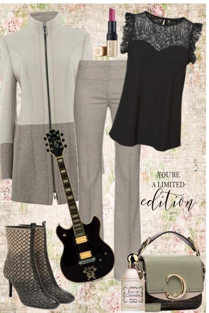 YOU ROCK GIRL- Combinaciónde moda