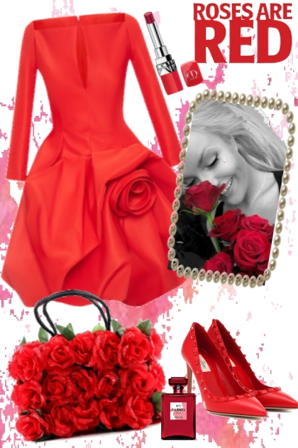 ROSES  FOR MY LADY- Combinaciónde moda