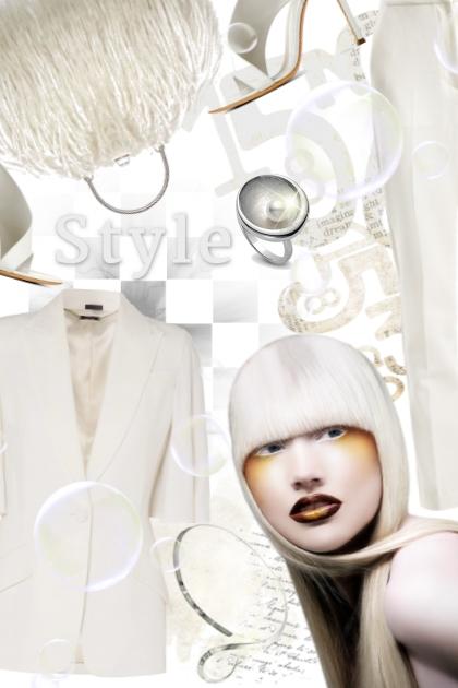 Білий - White