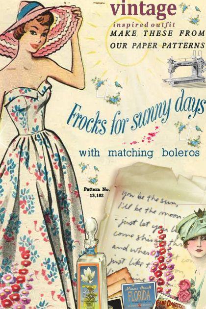 Frocks for sunny days- Kreacja