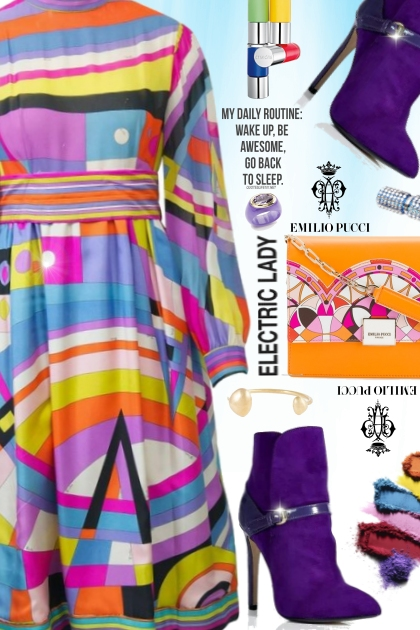 Shes Electric- Fashion set