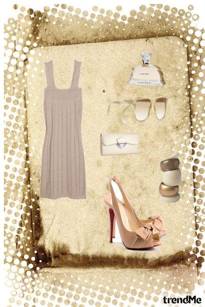 Bež kombinacija :)- Fashion set