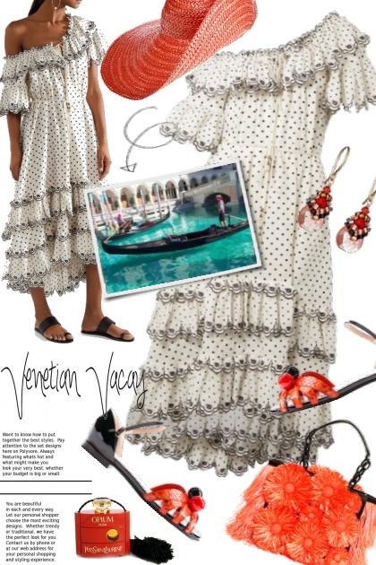 Venetian Vacay ~ Zimmermann Tiered Dress- コーディネート