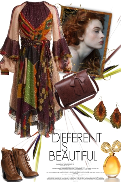 Different is Beautiful :-)- コーディネート